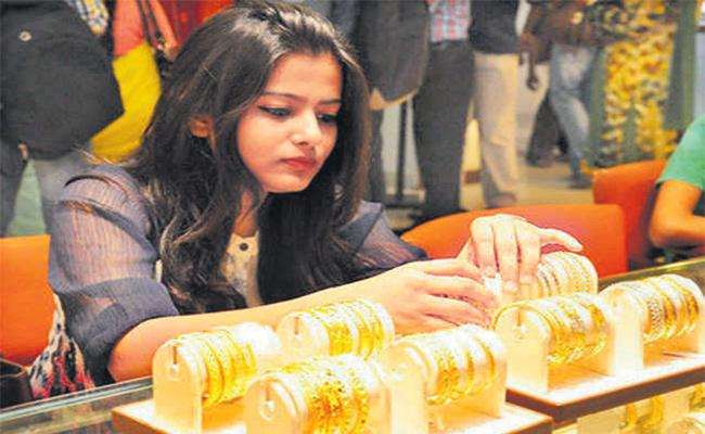 Gold Prices Hikes Continues in International Market - Sakshi