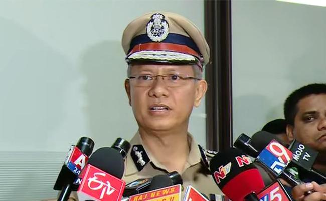 DGP Reacts On Reduces Security Cover to Chandrababu  - Sakshi