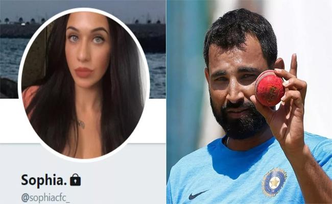 Mohammed Shami Sends Message to an Unknown Lady on Instagram - Sakshi