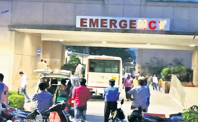 NIMS Emergency Ward Negligence on Patients - Sakshi