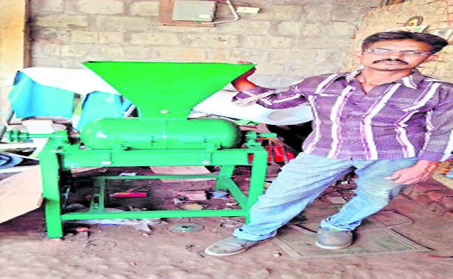 The Common Man Made Many Machines In East Godavari - Sakshi