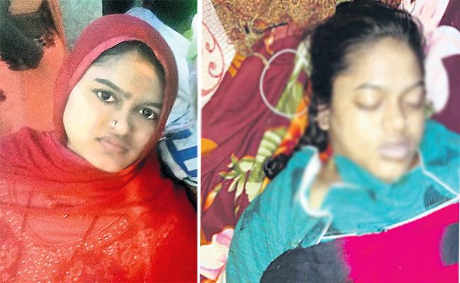 Pregnant woman commits suicide in Hyderabad - Sakshi
