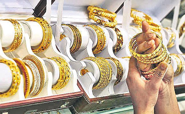 Gold Price Hikes Maximum in Delhi Market - Sakshi