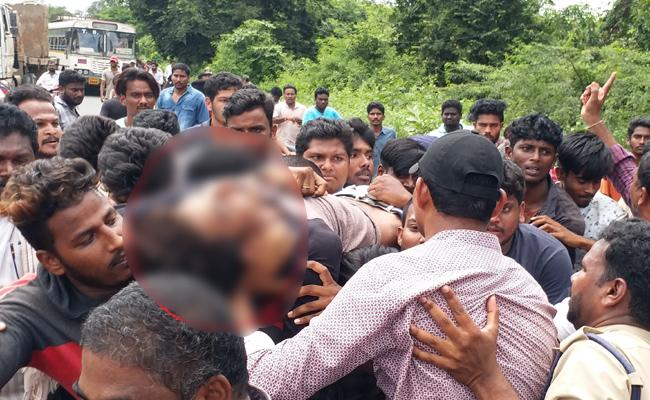Boy Suicide Committed With Fear Of Police Case In Khammam - Sakshi
