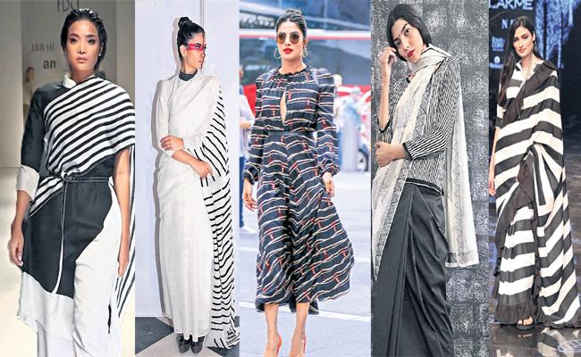 Black and White Fashion Story - Sakshi