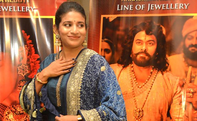 Sye Raa Narasimha Reddy: Sushmita Konidela Says about costumes and jewellery - Sakshi