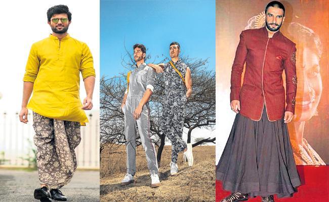 Latest Fashion Trend in market - Sakshi