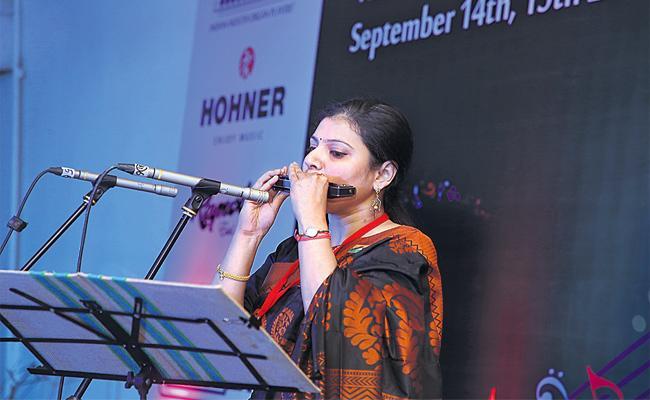 Ten Years Anniversary For Mouth Organ Musicians - Sakshi