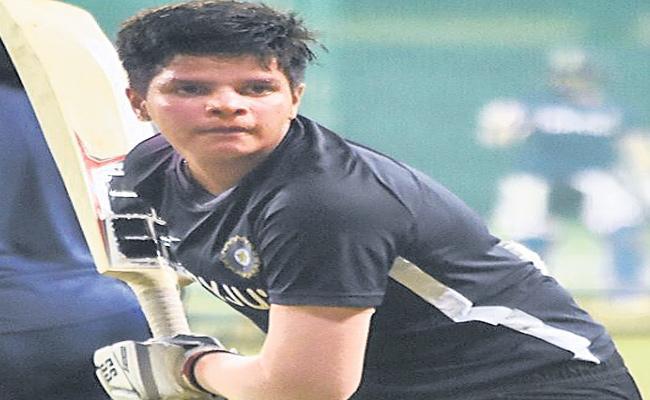 Special Story Female Cricketer Shefali Verma - Sakshi