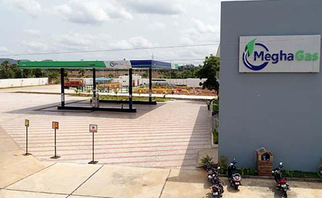 Megha Gas:Eco-friendly Green Fuel for Household and Commercial in AP, Telangana - Sakshi