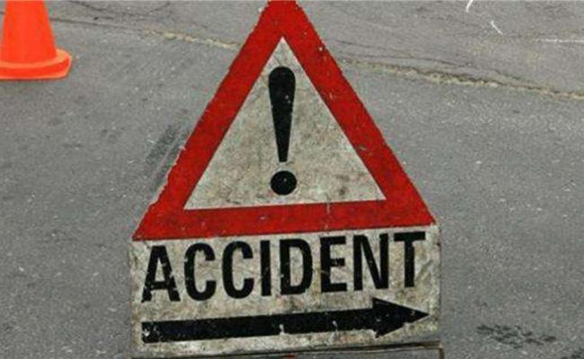 Road Accident in Kanigiri - Sakshi