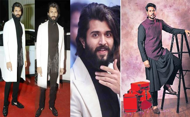 New look For Youth icon Vijay Devarakonda Fashion - Sakshi