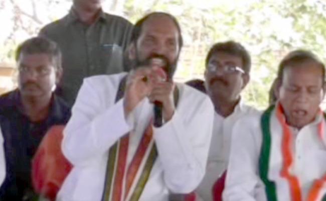 TPCC Chief Uttam Kumar Reddy Comments On KCR - Sakshi