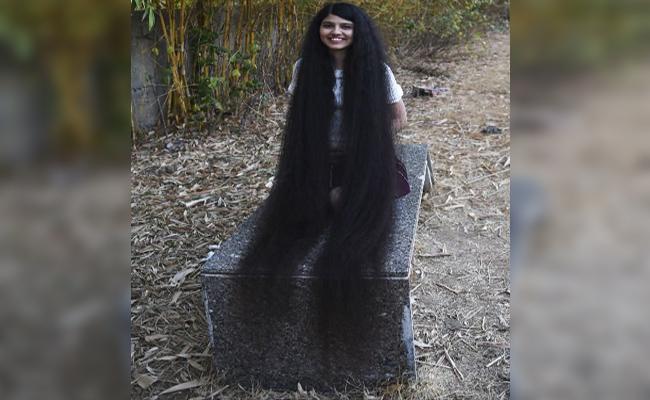 Real Life Rapunzel Wins Record For World Longest Hair - Sakshi