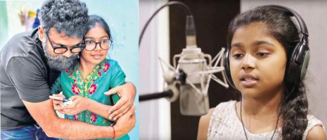 Sukumar Daughter Sukriti Bandreddi Singing Song - Sakshi