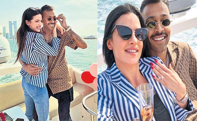 Special Story on Hardik Pandya Natasha Engagement - Sakshi