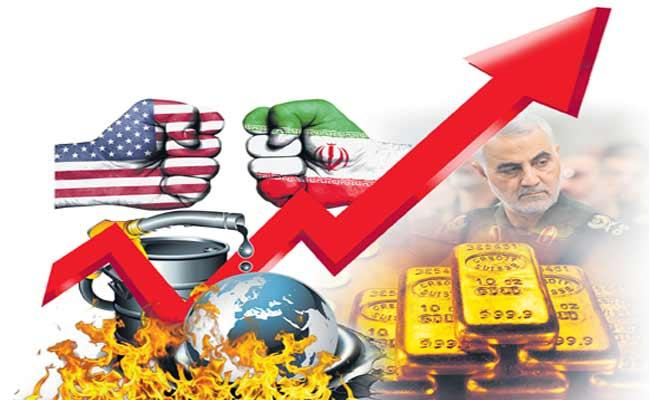 Oil Prices Surge 4 Percent After Iran Military Leader Killed In US Strike - Sakshi