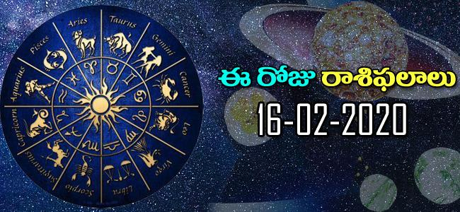 Daily Horoscope in Telugu (16-02-2020) - Sakshi