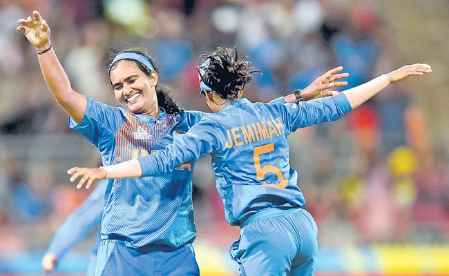 India Women Cricket Team Won Against Australia In ICC T20 World Cup - Sakshi