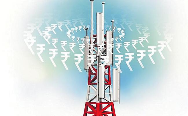 Central Government Focus on Relief to AGR hit Telcos - Sakshi