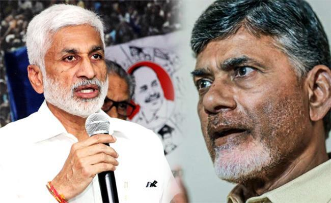 YSRCP MP Vijaya Sai Reddy Slams Chandrababu And Gang in Twitter - Sakshi