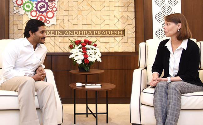 World Bank Representatives Meet CM YS Jagan Discuss Over AP Development - Sakshi
