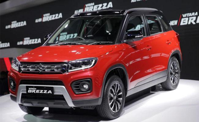 2020 Maruti Suzuki Vitara Brezza launched  - Sakshi