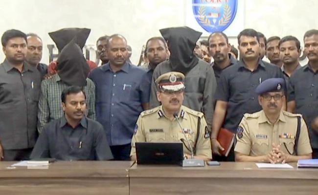 Anjani Kumar Press Meet About Arrest Of Two Gangs In Hyderabad - Sakshi