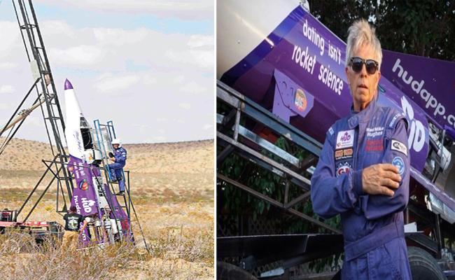Mad Mike Hughes Dies After Crash Landing Rocket - Sakshi