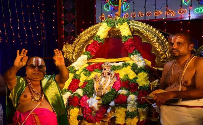 Gloriously Yadadri Brahmotsavalu In Nalgonda - Sakshi
