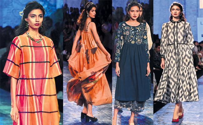 Designer Rina Singh Lakme Fashion Week - Sakshi