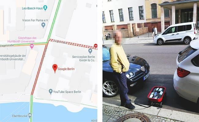 Berlin Man Creates Fake Traffic Jam And Fools Google Map - Sakshi