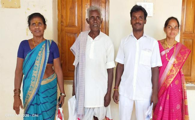 Family Participating in Local Elections MPTC Post in Vizianagaram - Sakshi
