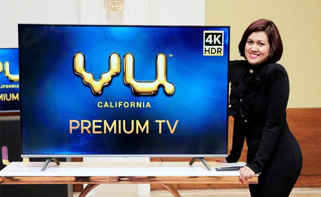 VU Premium 4K TV launch With New Verity Technology - Sakshi