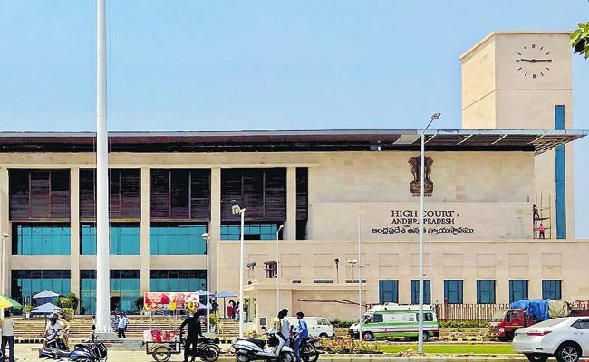 AP Election Commission Report to High Court On Local Body Elections - Sakshi