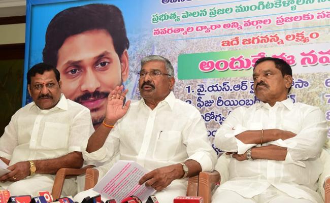 Peddireddy Ramachandra Reddy Slams Chandrababu Over Local Polls Postponed - Sakshi
