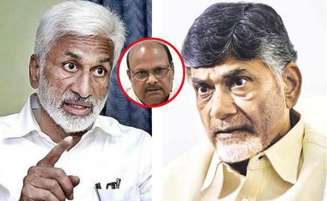 Vijaya Sai Reddy Slams Chandrababu Naidu And Yanamala - Sakshi