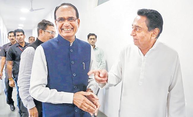Madhya Pradesh CM Kamal Nath resigns ahead of Floore Test - Sakshi