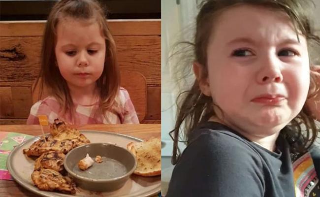 Corona LockDown: 4 years Girl Meltdown When She Hears Chinese Food Shutdown - Sakshi