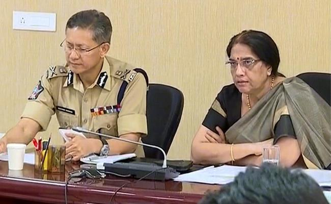 Central Cabinet Video Conference Meeting With AP Officials On Corona Lock Down - Sakshi
