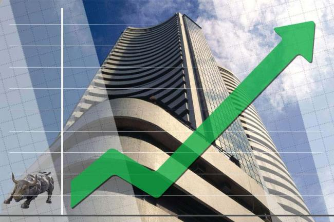 Sensex Surges On Rally In Bank Stocks - Sakshi