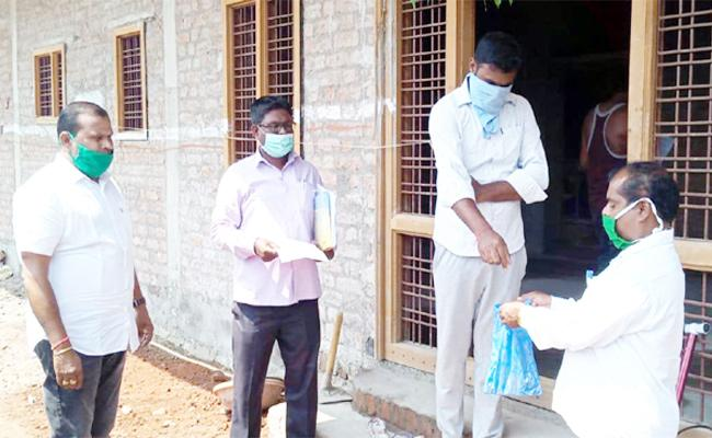 Passport Collecting From Isolation Ward Patients in Nizamabad - Sakshi