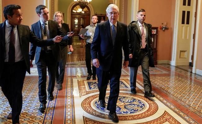 CoronaVirus: US Senate Passes Relief Package - Sakshi