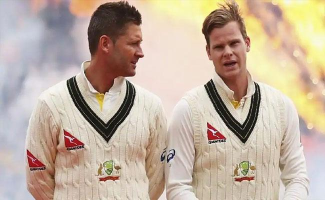 Michael Clarke Sensational Comments On Steve Smith About Captaincy - Sakshi