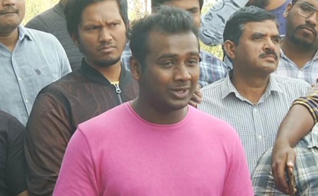 Rahul Sipligunj Complaint Against Attackers at Pub - Sakshi
