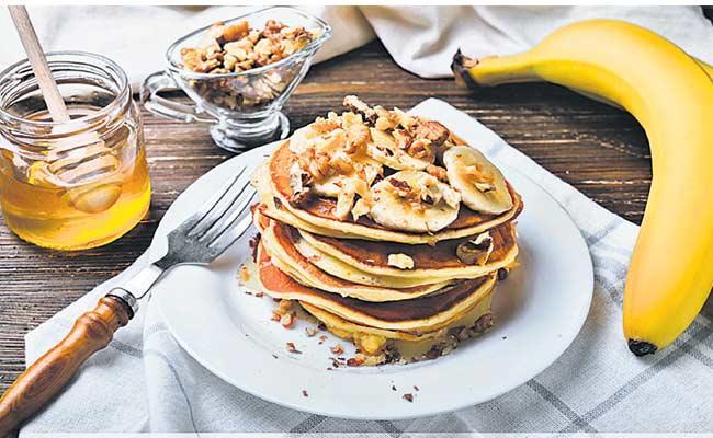 Almond Banana Pancakes Recipe - Sakshi