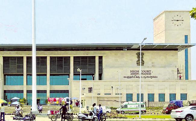 Justice Kanagaraj Counters Nimmagadda Ramesh petition in AP High Court - Sakshi