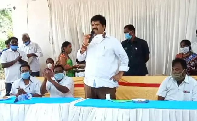Minister Avanthi Srinivas Fires On Chandrababu Naidu And TDP Leaders - Sakshi