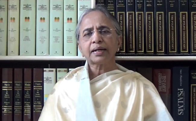 Sister YSR Vimala Reddy Gave Message About Good Friday Speciality - Sakshi