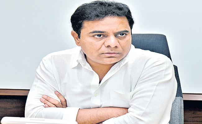 Relief to Municipal and IT Minister KTR in High Court - Sakshi